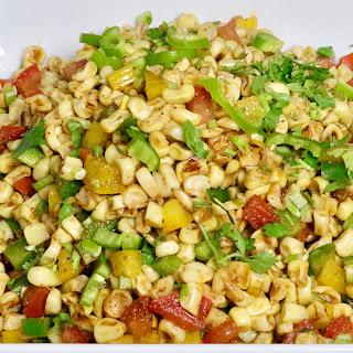 Spicy Corn Chaat.