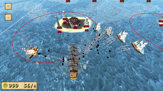 Pirates Showdown Full Free MOD APK 1.2.4.45 [Mod Menu] 6