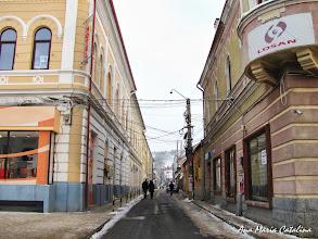 Photo: Turda  Piata Republicii - Vedere Str. Sterca Sulutiu - (2011.01.01)