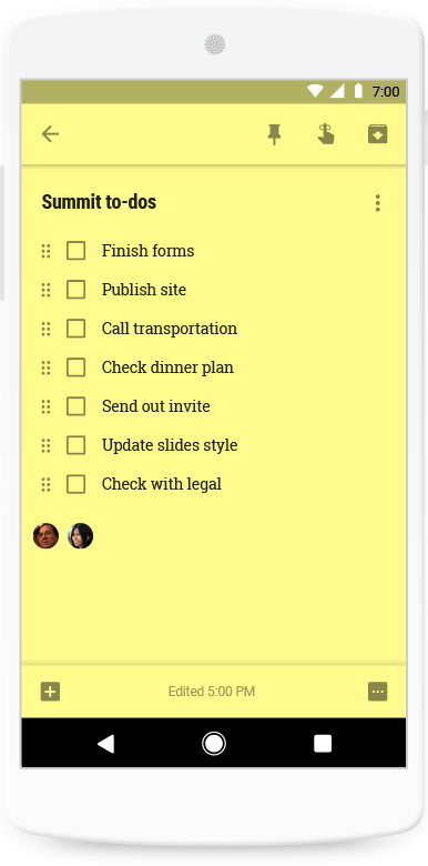 Google Keep: Online Note Taking for Business | G Suite