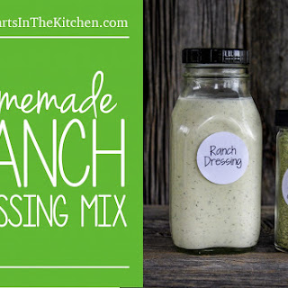 Homemade Ranch Dressing Mix.
