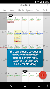 CalenGoo Calendar - Free Trial screenshot 1