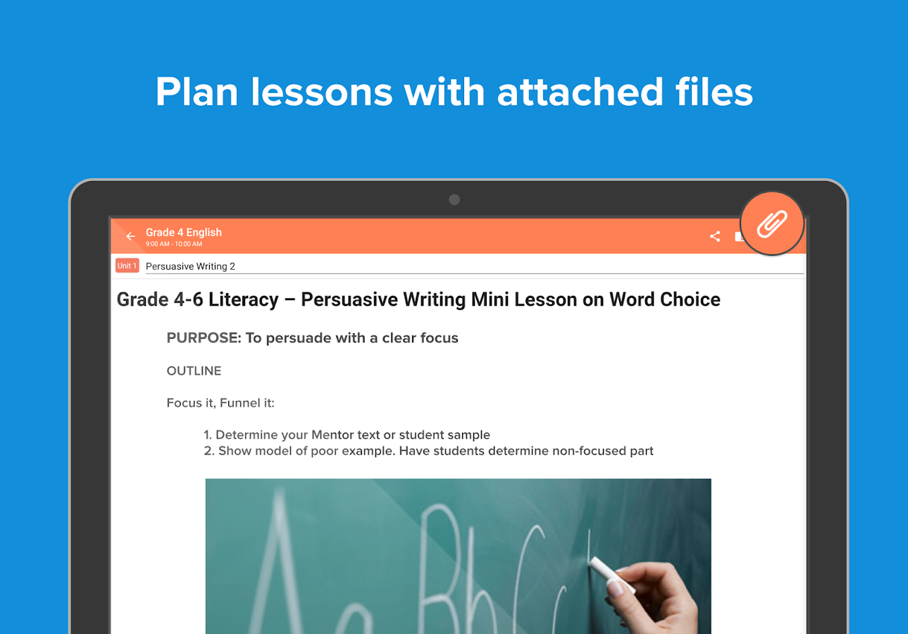 Planboard Free Lesson Planner- screenshot
