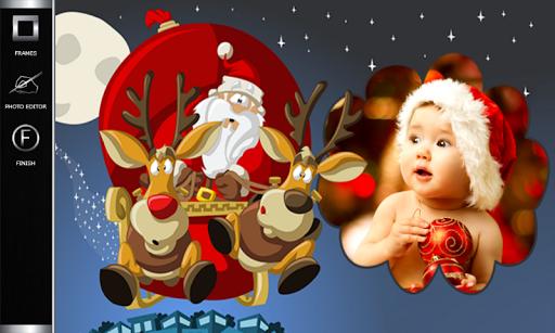 玩攝影App|有趣的圣诞相框免費|APP試玩
