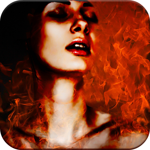 Fire Frames for Pictures Icon