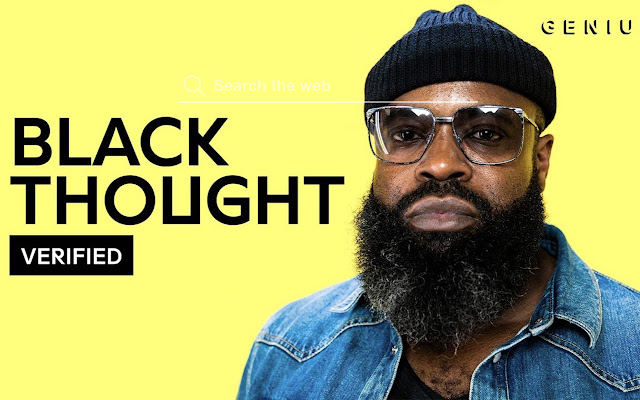 Black Thought HD Wallpapers New Tab Theme