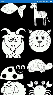 Tải Game Lets Coloring Cute Animals