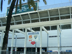 Photo: La Rosaleda foci stadion La Rosaleda football stadium