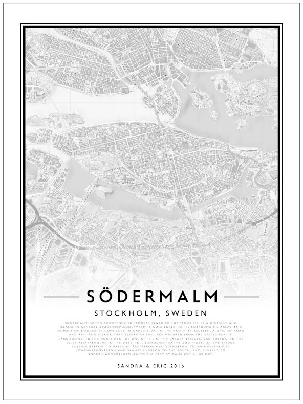 CITY MAP - SÖDERMALM