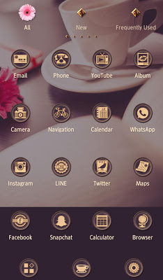 Beautiful Theme Coffee Time - screenshot