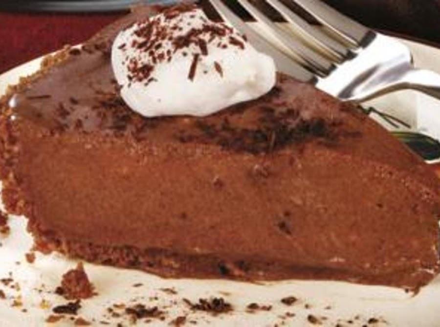 World S Best Chocolate Pie Recipe Just A Pinch Recipes