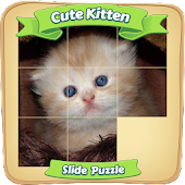 Cute Kitten - Sliding Puzzle