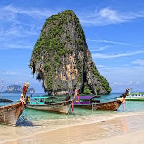 Phra Nang Island by Yoshida Fujiwara - Landscapes Waterscapes