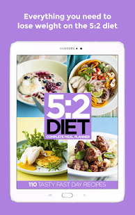 5:2 Diet Complete Meal Planner- screenshot thumbnail