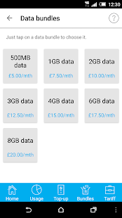 Tesco Mobile Pay As You Go- screenshot thumbnail