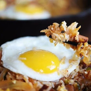 Spam and Kimchi Fried Rice