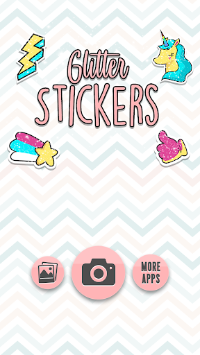 Glitter Stickers 1.1 screenshots 1