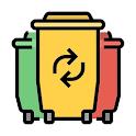 Gdzie wyrzucić? Segregowanie odpadów i śmieci icon