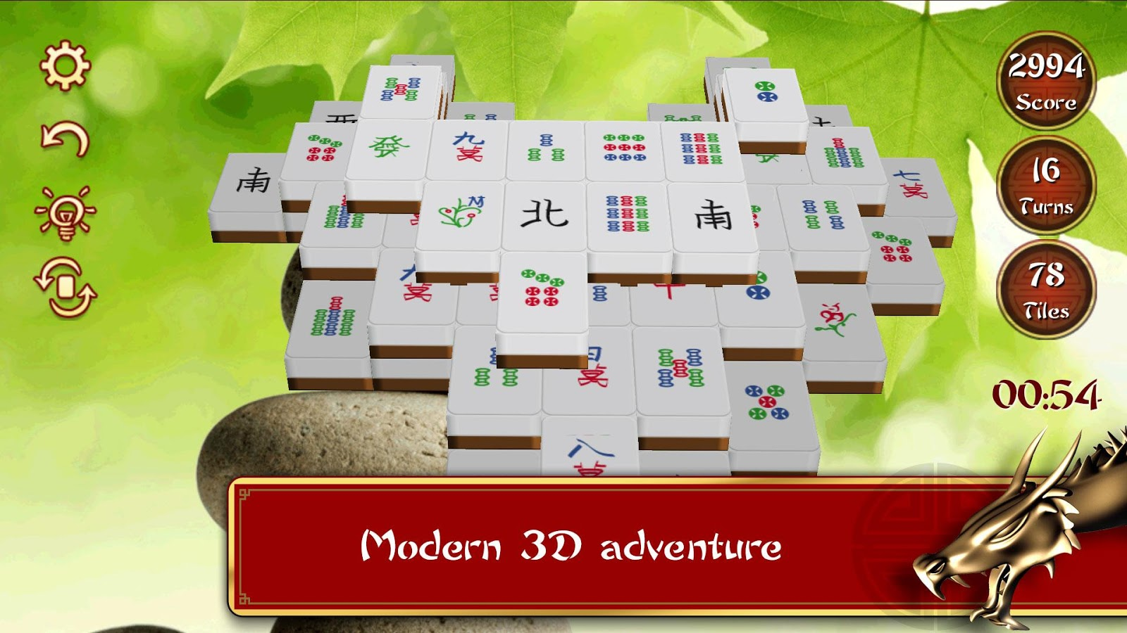 3D Mahjong Mountain- screenshot