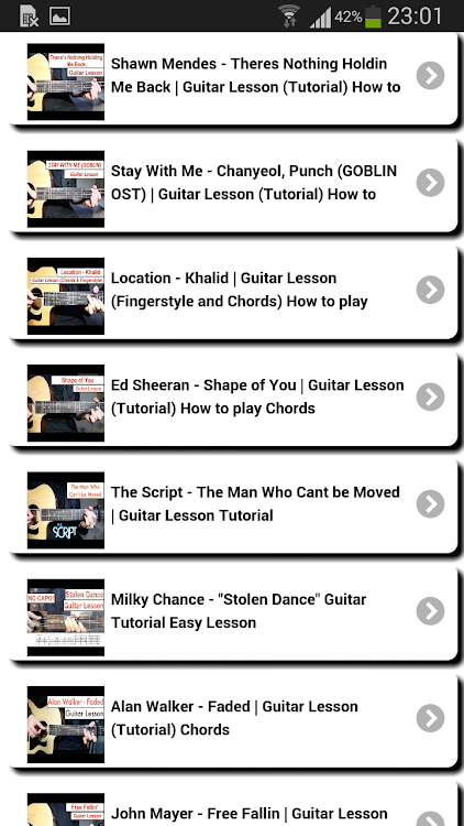 Learn To Play The Guitar Android Apps Appagg