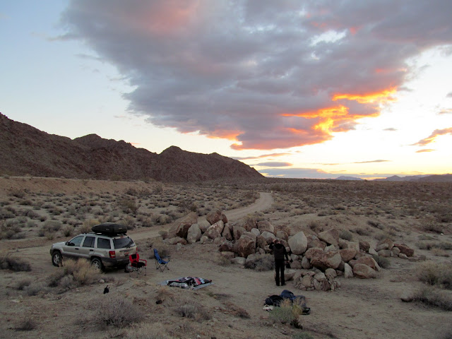 Sunrise at camp
