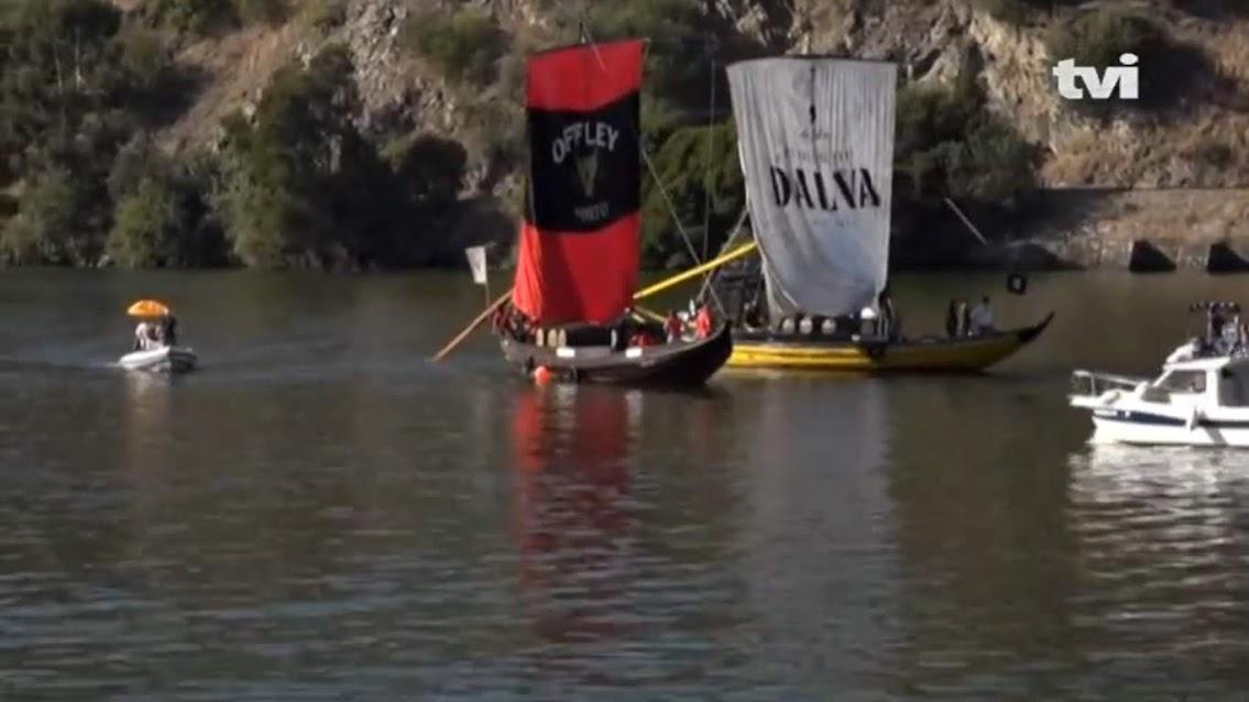 Rabelos fizeram regata no Douro para celebrar Vinho do Porto