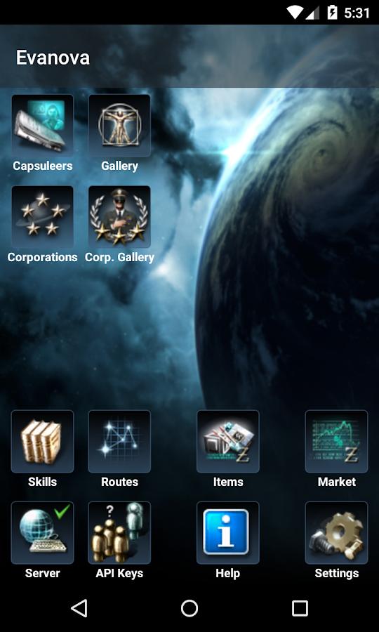 Evanova for EVE Online - screenshot
