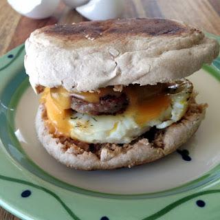 Lemon Dill Freezer Breakfast Sandwich.