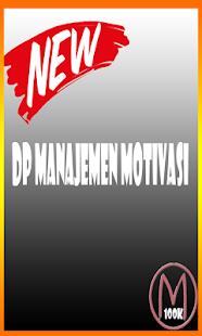 DP Manajemen Motivasi - náhled