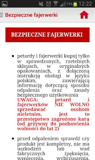 Regionalny System Ostrzegania screenshot 7