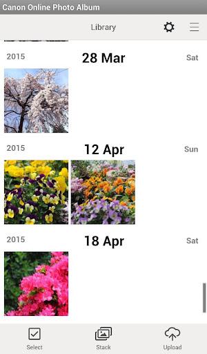 Canon Online Photo Album 1.7.0 Windows u7528 1