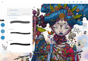 Adobe Photoshop Sketch - screenshot thumbnail 08