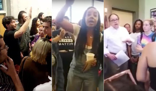 White students fear campus racism