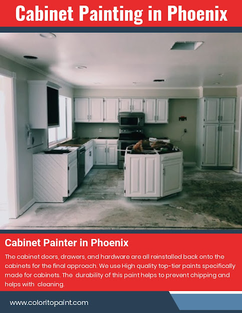 Cabinet Painting in Phoenix