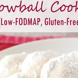 Pecan Snowball Cookies.