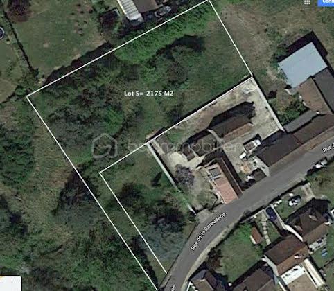 Vente terrain 2175 m2