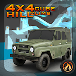 4x4 Cubes Hill Climb Racing Icon