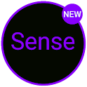 Sense Black/Purple cm13 theme icon