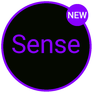 Sense Black/Purple cm13 theme Latest version apk