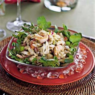 Sewee Preserve's Seafood Salad.
