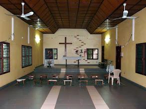 Photo: la sobre chapelle