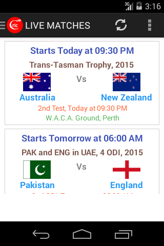 CricNew Watch Cricket Score