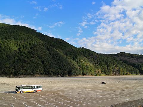 奈良交通「八木新宮線」 ・960 十津川温泉~本宮大社前間到着 その4