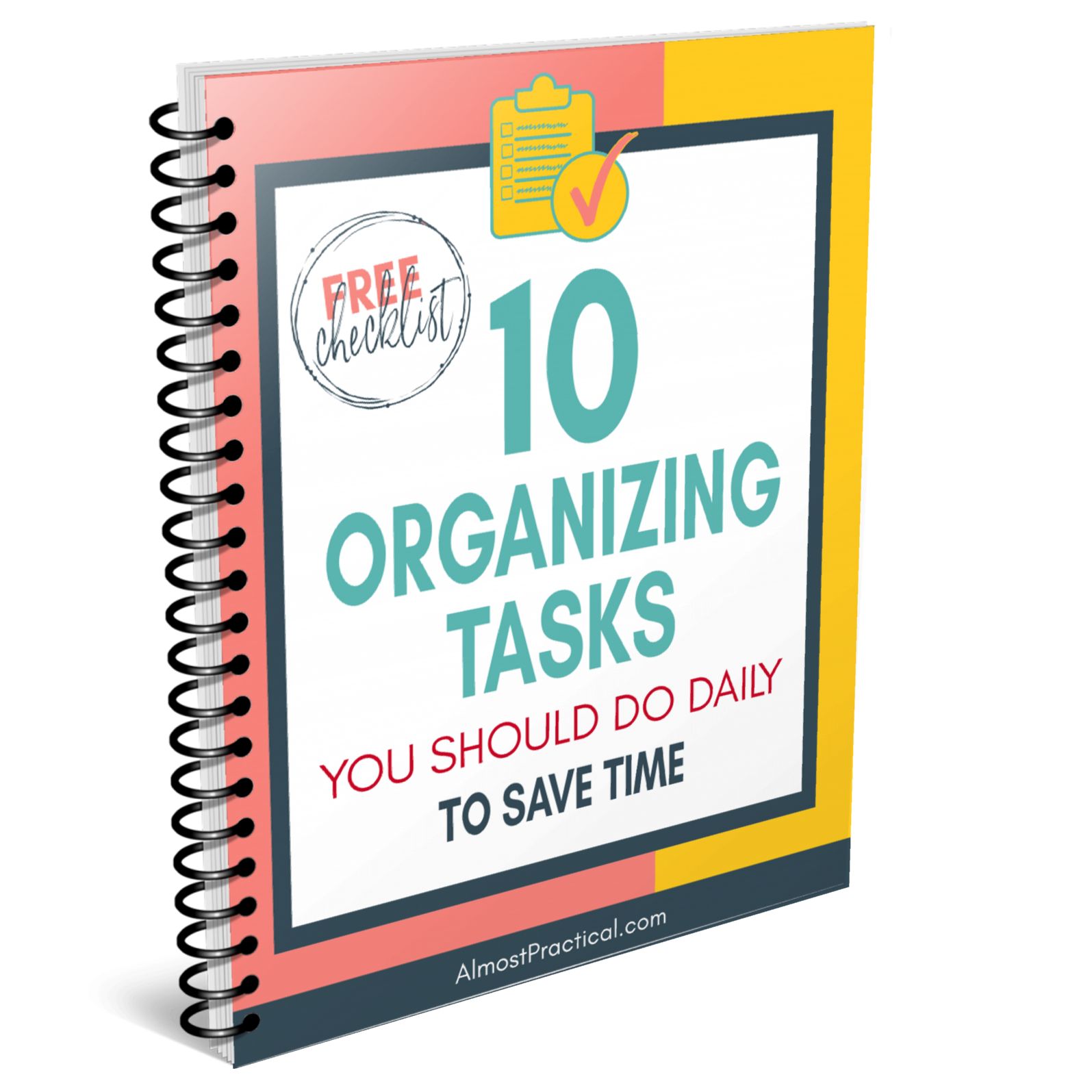 10 organizing tasks free checklist