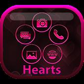 Smart Launcher Hearts