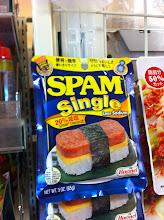 Photo: OMG!  Single serving of Spam!  Supermarket that has a lot of international foods.  Lumine Dept Store, Ogikubo, Tokyo.