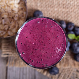 Blueberry Smoothie Apple Juice Recipes