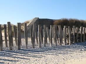 Photo: Bunkry na plażach koło Calais.