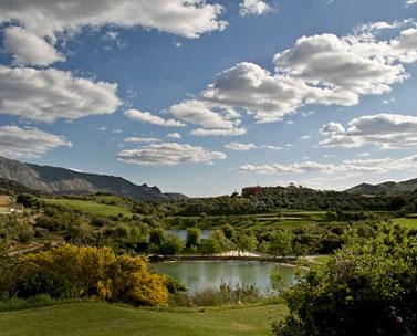 Calebraciones campo de golf