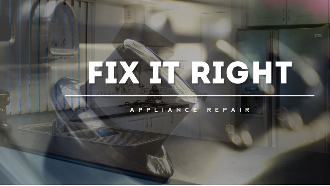 Fix It Right Appliance Repair | Refrigerator Repair | Washing